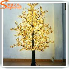 fake tree with lights artificial outdoor trees led plastic uk artifi