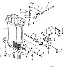 Mercury mariner 70 75 80 90 hp 3 cylinder driveshaft