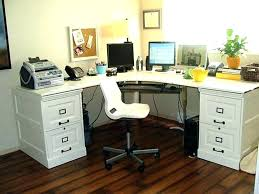 small white corner desk l shaped computer furniture factor inside with hutch sm
