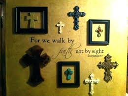 crosses for wall decor