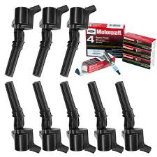 <b>Ignition Coils</b> for Ford F150 Expedition Mustang with Motorcaft <b>Spark</b> ...