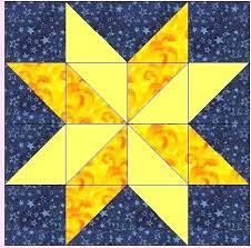 North Star Quilt Block Template Lone Star Quilt Pattern Meaning ... & ... Missouri Quilt Block Patterns For The Hunter Star Block You Will Need  Two Contrasting Star Star ... Adamdwight.com
