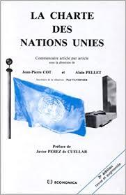 Amazon Fr La Charte Des Nations Unies Jean Pierre Cot