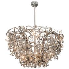 brand van egmond upside down icy lady sculptural chandelier for