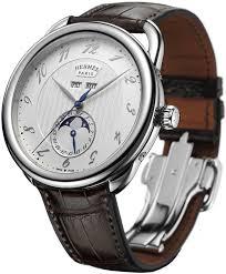 hermes men watches best watchess 2017 036756ww00 hermes arceau grande lune automatic 43mm mens watch