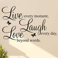 love laugh decor home live laugh love quote vinyl decal removable art wall stickers home roo