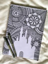 Pattern Drawing Simple 48 Absolutely Beautiful Zentangle Patterns For Many Uses Bored Art