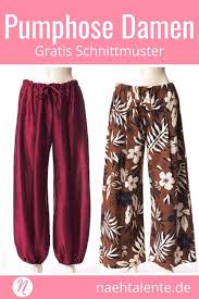Check out our schnittmuster damen selection for the very best in unique or custom, handmade pieces from our tutorials shops. Haremshose Nahen Fur Damen Freebook Nahtalente Schnittmuster Pumphose Damen Schnittmuster Hose Damen Haremshose Nahen