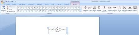 chemical mathematical equations in ms word latex
