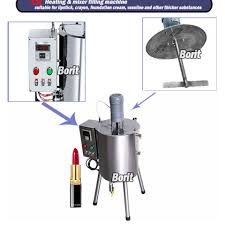 heating stirring pasty filling machine