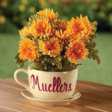 Personalized Teacup Planter 352843