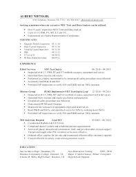 Ndt Technician Resume Sample Best Of Ndt Technician Resume Sample As Well As Technician Resume Sales