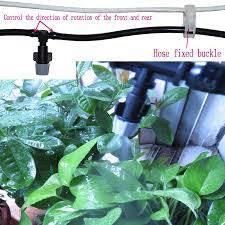 1 set automatic garden sprinkler irrigation system irrigation pipe fountain 4 7mm drip irrigation system with sprinklers garden