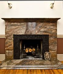 img granite outdoor fireplace with mantel diying to domestic surrounds theres hearth stone black ideas surround