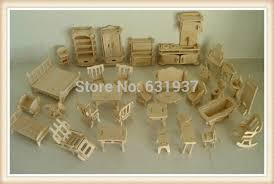 building doll furniture. Free-Shipping-DIY-Mini-Furniture-34pcs-set-Kids- Building Doll Furniture D