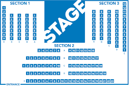 Seating Chart The Gloucester Stage Company