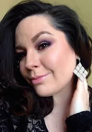 purple y eye prom makeup using mac cosmeticakeup forever
