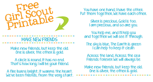 Song lyrics friendship quotes google search. Make New Friends Girl Scout Song Lyrics Printable