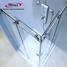 rubber stopper for glass shower door
