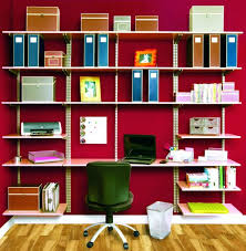 wall mounted office organizer system. Large Size Of Office Interior Decoration Ideas Furniture Astonishing Red Wall Painting Room With Parquet Flooring Mounted Organizer System