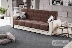 Camera Da Letto Beige E Marrone : Folk divano letto con contenitore struttura in similpelle