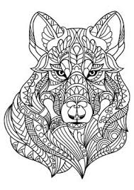 Small Picture Adult Coloring Pages Alfa Wolf COLORING PAGES Pinterest