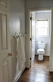white beadboard bathroom. Makeover Bathroom Ideas Picture Using Beadboard : Fabulous White Color Scheme With Horizontal Walls