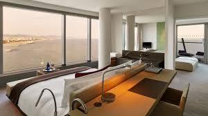 On Suite Bedroom W Hotels Barcelona W Barcelona Rooms Best Rates Guaranteed