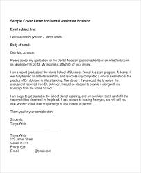 Cover Letter For Dental Assistant Musiccityspiritsandcocktail Com