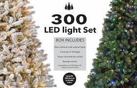 300 Warm White Multi Color Led String Light Set