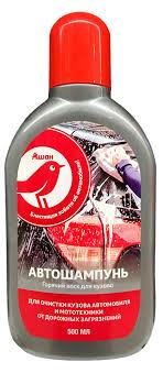 Купить Автошампунь Auchan Красная Птица <b>горячий воск для</b> ...