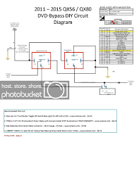 infiniti qx56 fuse diagram wiring library 08 12 armada qx56 watch dvd s on your navigation screen page 11 image infiniti qx56 fuse diagram