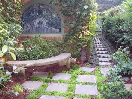 1 prayer garden quiet place to sit traditional landscape