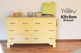 Small Picture diy yellow kitchen dresser tutorial painted kitchen dressers and