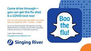 If you remember having had the flu, you know how uncomfortable it feels, and how you don't have the energy to do much of anything. Flu Shots 2020 Boo The Flu Singing River Health System