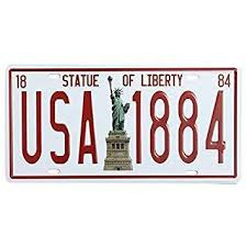 14,798 bar wall decorations products are offered for sale by suppliers on alibaba.com, of which other home decor accounts for 5%, wall there are 13,998 suppliers who sells bar wall decorations on alibaba.com, mainly located in asia. Buy Statue Of Liberty License Plate Tin Sign Vintage Metal Plaque Poster Bar Pub Home Wall Decor Features Price Reviews Online In India Justdial