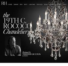 the 19th c rococo chandelier