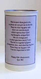 gifts favors 10th wedding anniversary gifts for her him aluminum couples friends present guys