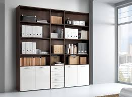 Modern office storage Build In Italian Office Library Unit Vv Le5074 main Image Modern Storage Blu Dot Office Storage Library Unit Vv Le5074 Bookshelves Bookcases