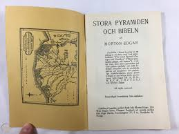 1921 Great Pyramid and the Bible Morton Edgar Swedish Watchtower Related  Jehovah | #1881910737
