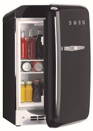 smeg retro appliances. Simple Appliances Smeg 50u0027s Retro Design FAB5URNE  Black Half Open For Appliances