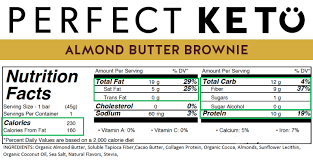 so you ll see the following macros on the nutrition label