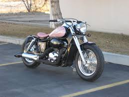 honda shadow ace 750 american classic edition blue collar bobbers