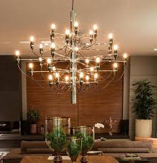 18 30 lights gino sarfatti chandelier pendant lamp ceiling light fixture home for living room bedroom kitchen free