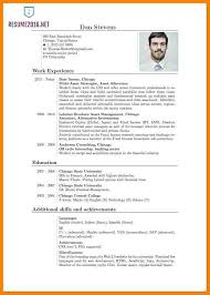 5 Example Of Cv In English Pdf Cains Cause