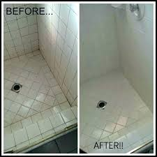 cleaning tile shower best way