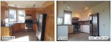 Kitchen Refinishing Kitchen Refinishing Woodwork Spray Painting Alta Pro Painting