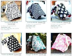 how to make a car seat canopy baby car seat canopy other crochet baby car seat
