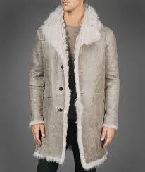 Designer Fur Jacket Men Asymmetrical Shearling Coat John Varvatos Official Site