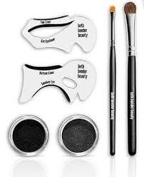 perfect smokey eyes cat eyeliner makeup set